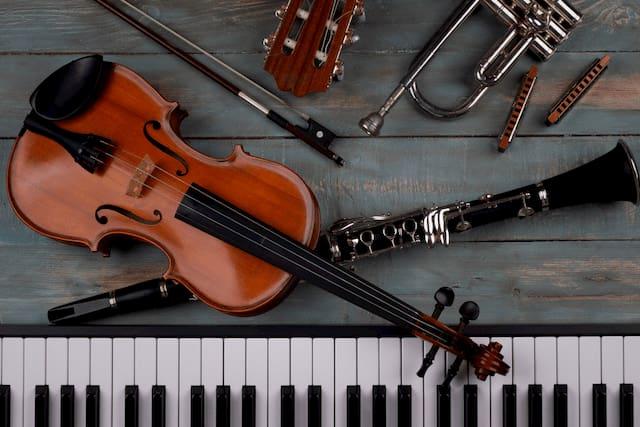 Foto de Instrumentos Músicais